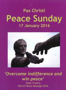 Countdown to Peace Sunday 17 January