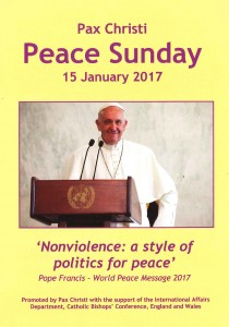 Peace Sunday liturgy resource booklet