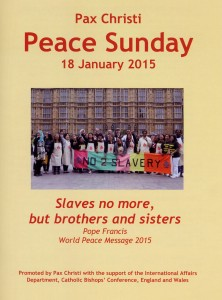 Peace Sunday 2015