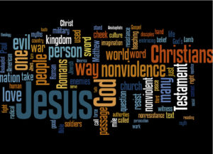 Jesus nonviolence-101-word-cloud-4