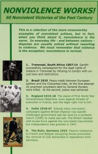 Nonviolence works brochure