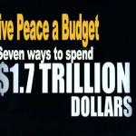 2Give Peace a Budget2