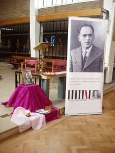 Commemoration Service for Blessed Franz Jagerstatter @ Sacred Heart Church | London | United Kingdom