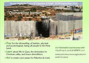 World Week for Peace in Palestine & Israel