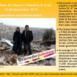 Take action on house demolitions in Palestine