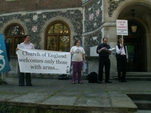 Vigil at Church House Conference Centre, London  @ Church House Conference Centre | London | United Kingdom