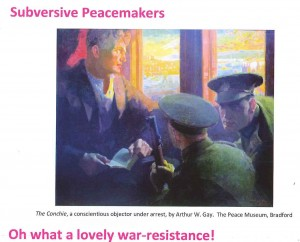 Oh what a lovely war-resistance! A musical evening of historic opposition to war. @ St Augustine's Church   London   United Kingdom