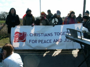 Pax Christi joins faith protest at AWE Burghfield  @ AWE Burghfield | Burghfield | England | United Kingdom