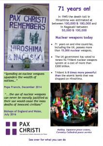 Remembering Hiroshima & Nagasaki
