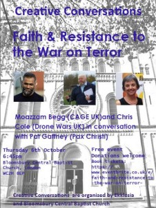 Faith & Resistance to the War on Terror @ Bloomsbury Central Baptist Church | London | England | United Kingdom