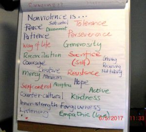 01e 6.5.17 Pax Christi Nonviolence Day, the Cenacle, Liverpool