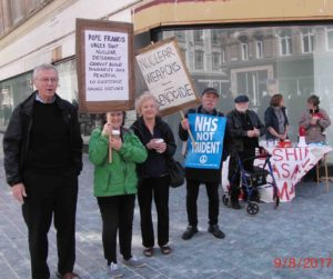 14e 9.8.17 Pax Christi remembers 1945 Atom Bombing of Nagasaki, Church Street, Liverpool