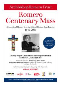 A4 Romero centenary poster 2017