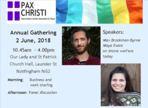 Pax Christi Annual General Meeting @ Our Lady and St Patrick Church | England | United Kingdom