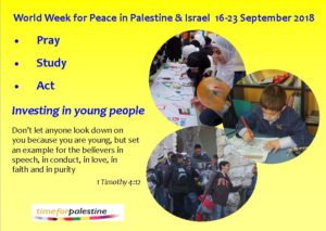 World Week for Peace in Palestine & Israel 2018