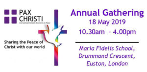 Pax Christi Annual General Meeting @ Maria Fidelis School