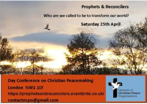 Postponed: Conference: 'Prophets and Reconcilers' @ Maria Fidelis School,