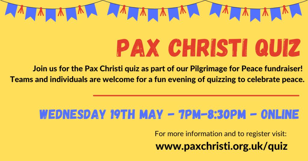 Pax Christi Quiz