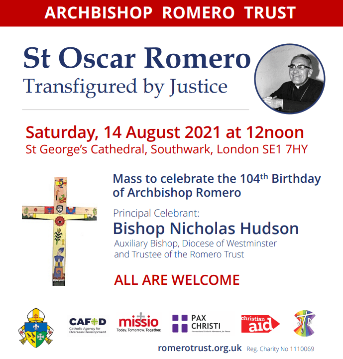 Romero Mass @ St George's Cathedral, Southwark