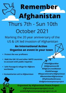 An International Action - organise an event in your town